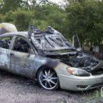 авто после возгорания продать