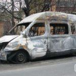 сгорел автомобиль в Москве