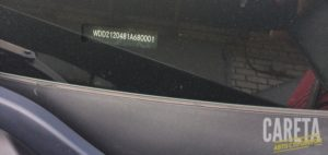 Вин номер Mercedes-Benz E-klasse IV