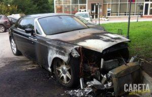 продать машину после пожара